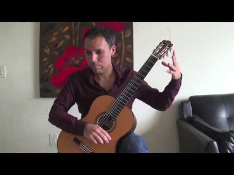 Classical Guitar: O Canada Variation
