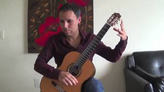 Classical Guitar- O Canada Variation