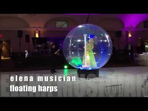 Elena Musician Toronto Floating Harps