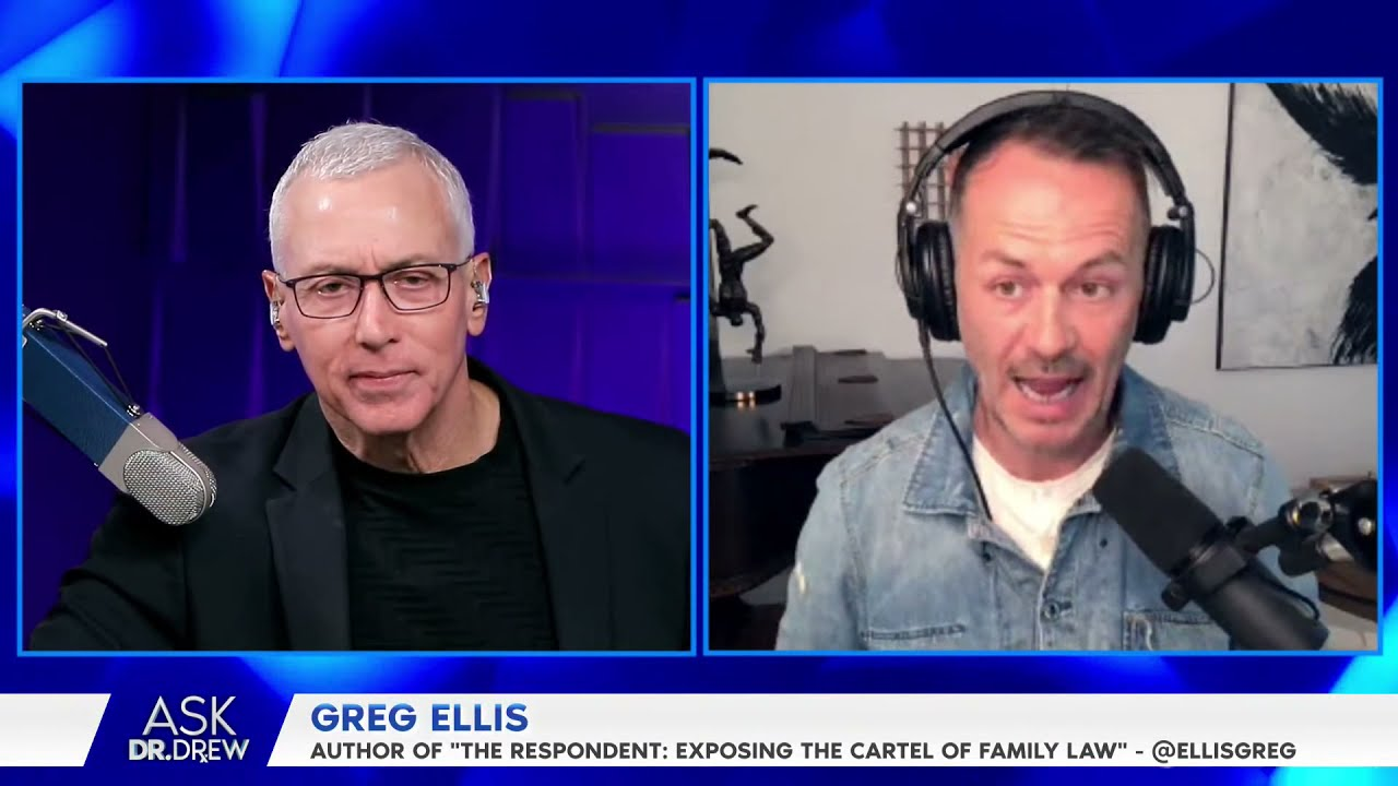 """Download Greg Ellis – Author of """"The Respondent: Exposing the Cartel of Family Law"""" – LIVE on Ask Dr. Drew"""