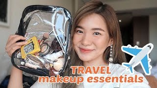 My Travel Makeup MUST-HAVES! ♥️   Toni Sia