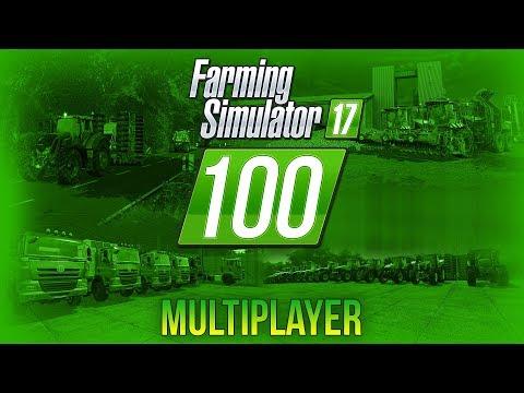 HODINOVÝ MULTIPLAYER SPECIÁL! | Farming Simulator 17 #100 thumbnail