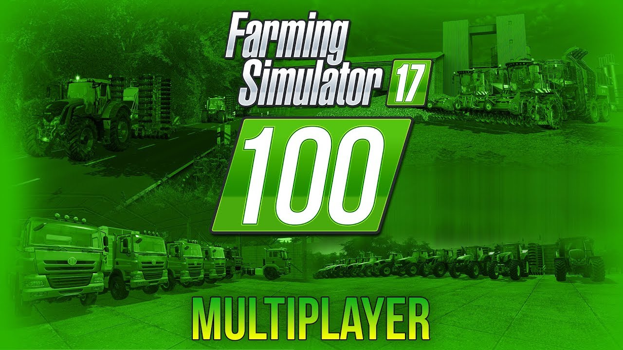 HODINOVÝ MULTIPLAYER SPECIÁL! | Farming Simulator 17 #100
