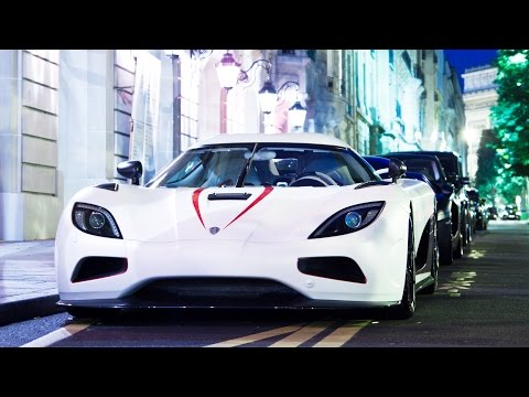 Koenigsegg Agera R White Exhaust Sound - Loud Sounds, Start up, accelerations and full throttle!