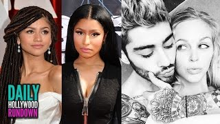 Nicki Minaj Shades Zendaya? - Zayn Malik Has A New Girlfriend!? (DHR)