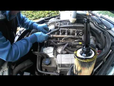 Mercedes W204 C200CDI Thermostat replacement