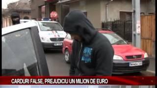 CARDURI FALSE, PREJUDICIU UN MILION DE EURO(, 2013-03-14T17:48:42.000Z)