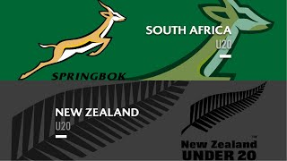 world rugby u20s 2019 south africa v new zealand full match