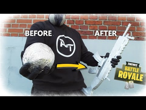 Mirror Polished Japanese Foil Ball To Real Life FORTNITE: SCAR (Aluminum Casting)