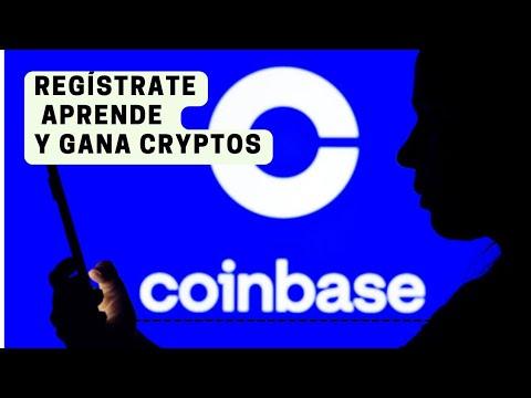 COINBASE REGISTRO ENVIAR Y RECIBIR BITCOIN