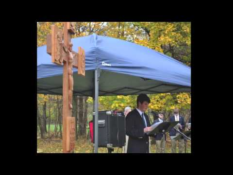 Senior Reflects on Potter's Field All Soul's Day Prayer Service