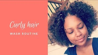 My Curly Hair Wash Day Routine From Start to Finish! (HOW I GROW MY HAIR) | Chloe Beverly