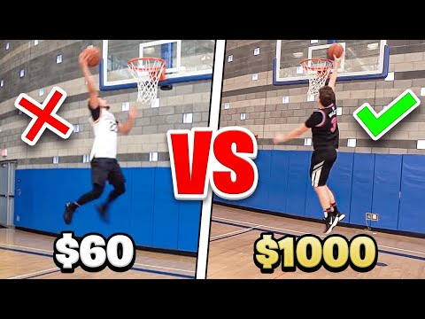 $60 BASKETBALL SHOE Vs. $1000 BASKETBALL SHOE