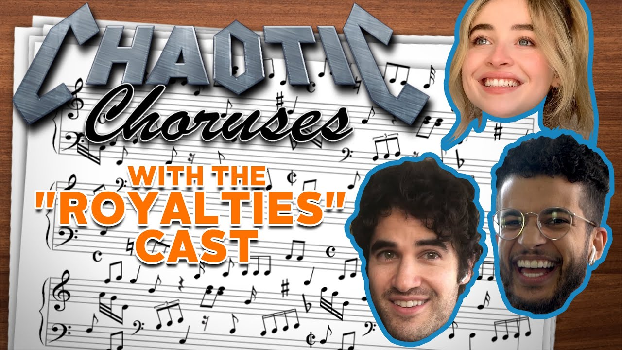 Darren Criss & 'Royalties' Cast Create Songs About Mustaches... and Not Wearing Pants