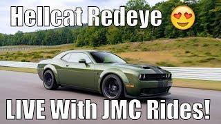 Hellcat Redeye, Q&A LIVE With JMC RIDES!