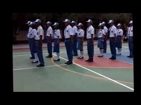 Simulasi Baris Berbaris SMK Negeri 1 Bandung Tulungagung