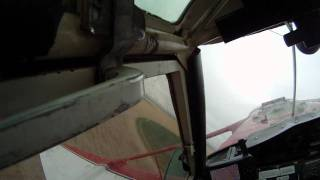 Crop Dusting - Cessna 188 AgWagon Flying Under the Wires