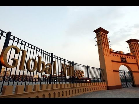 Global attractions at Global Village in Dubai