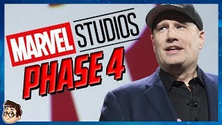 Marvel Phase 4 Comic Con 2019 Announcements!