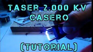 taser casero 2000 kv tutorial