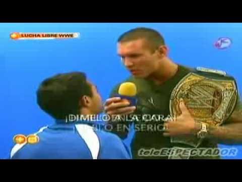 Randy Orton Interview in Mexico