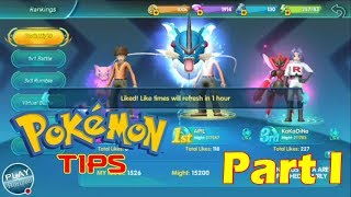 Legend Trainer - Tips and Hints Part 1