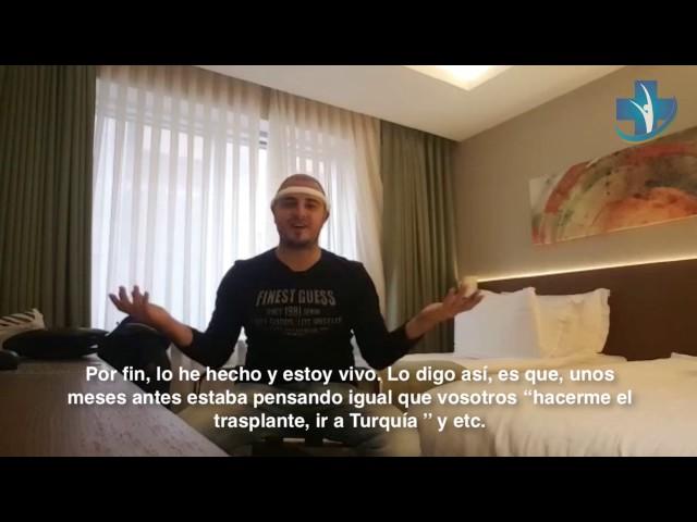 Trasplante Capilar Turquía - Testimonio por Domenico Valvano - Dra. Oyku Celen / Skin Health Turkey