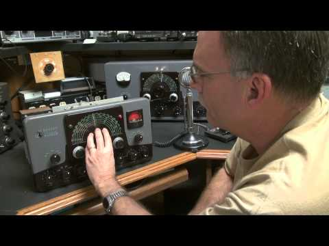 EF Johnson Ranger Transmitter AM CW 6146 Tube Rig Lives again