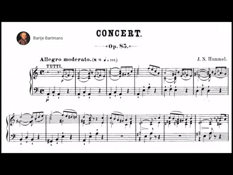 Johann Nepomuk Hummel - Piano Concerto No. 2 in A minor, Op. 85 (1816)