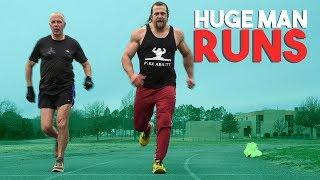 How Fast Does a 240lb Man Run 400m?