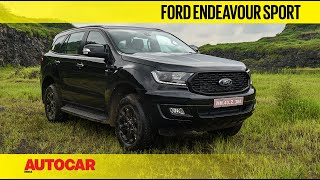"2020 Ford Endeavour Sport - ""Any colour so long as it is black"" 
