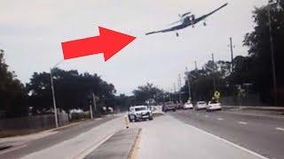 Plane Makes Dramatic Crash-Landing on Road thumbnail