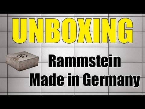Rammstein - Made in Germany - Super Deluxe Edition Unboxing