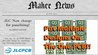 How to Manually Panelize PCBs