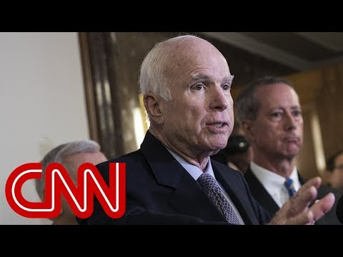 White House aide joked about 'dying' John McCain