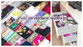 KonMari with Me! Organizing My Socks & Underwear || Tidying Up my drawers
