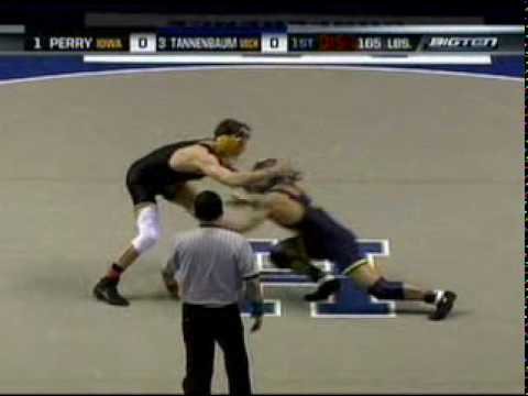 2008 Big ten wrestling finals highlight