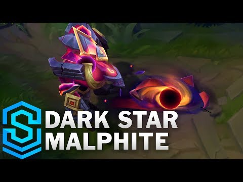 Dark Star Malphite Skin Spotlight - Pre-Release - League of Legends