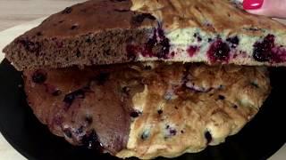 Шикарный смородиновый бисквит / Очень вкусное тесто / Пошаговый рецепт