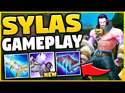 NEW CHAMPION SYLAS IS 100% BEYOND BROKEN! (STEAL ANYONES ULT) SYLAS TOP GAMEPLAY!