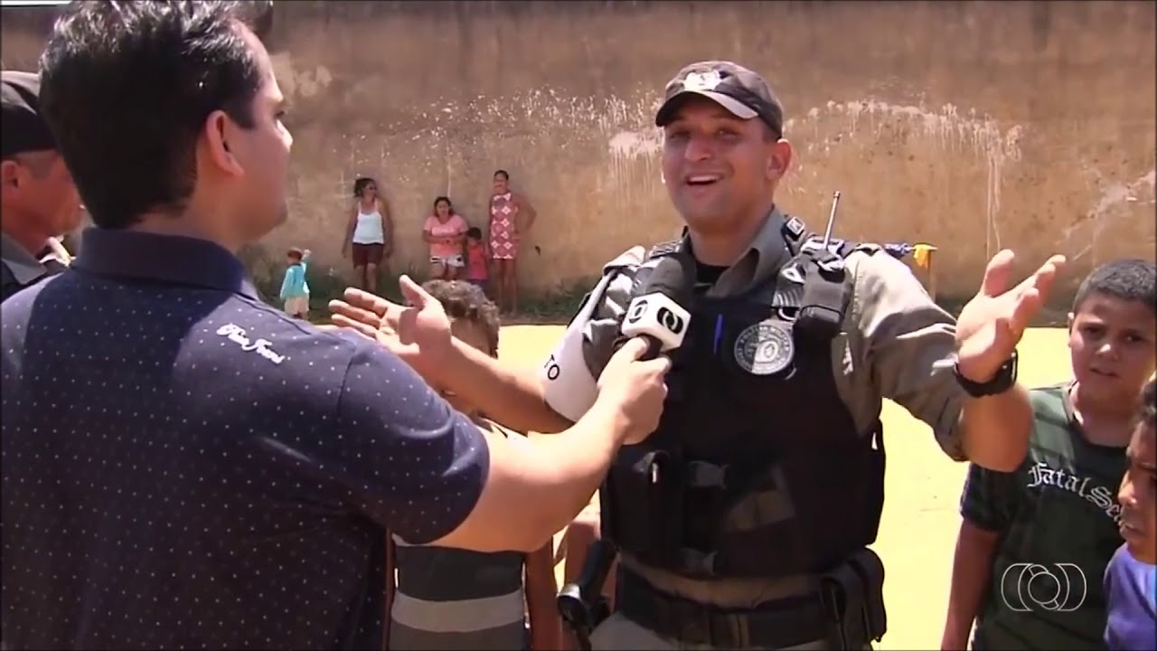 Policial Torcedor do Goias - Ten. Cesar Salustiano