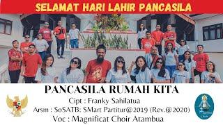 PANCASILA RUMAH KITA - Franky Sahilatua    Voc. Magnificat Choir Atambua