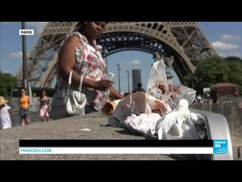 Paris: From The City Of Lights.... To The City Of Trash?