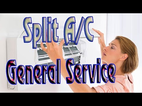 Learn How to Clean an split  Air Conditioner Servicing AC Cleaning at Home