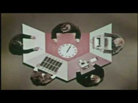 IBM - Man and Computer (Arpanet - Wireframe Images - Software Version)