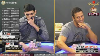 $51,000 Stone Cold Bluff Puts Garrett Adelstein In Tough Spot