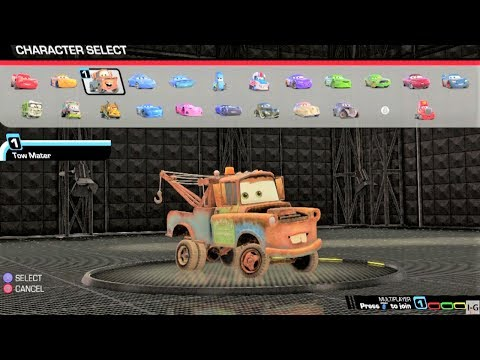Cars 1, Cars 2, Cars 3 - All Characters/Cars List HD