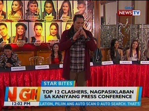 BT: Top 12 Clashers, nagpasiklaban sa kaniyang press conference