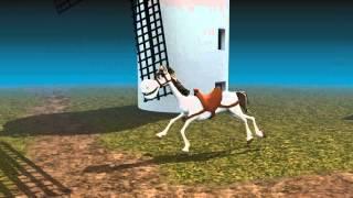Rocinante prueba de animaciones Blender
