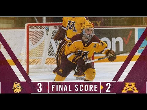 Gopher Hockey Falls to Minnesota-Duluth 3-2 at North Star College Cup